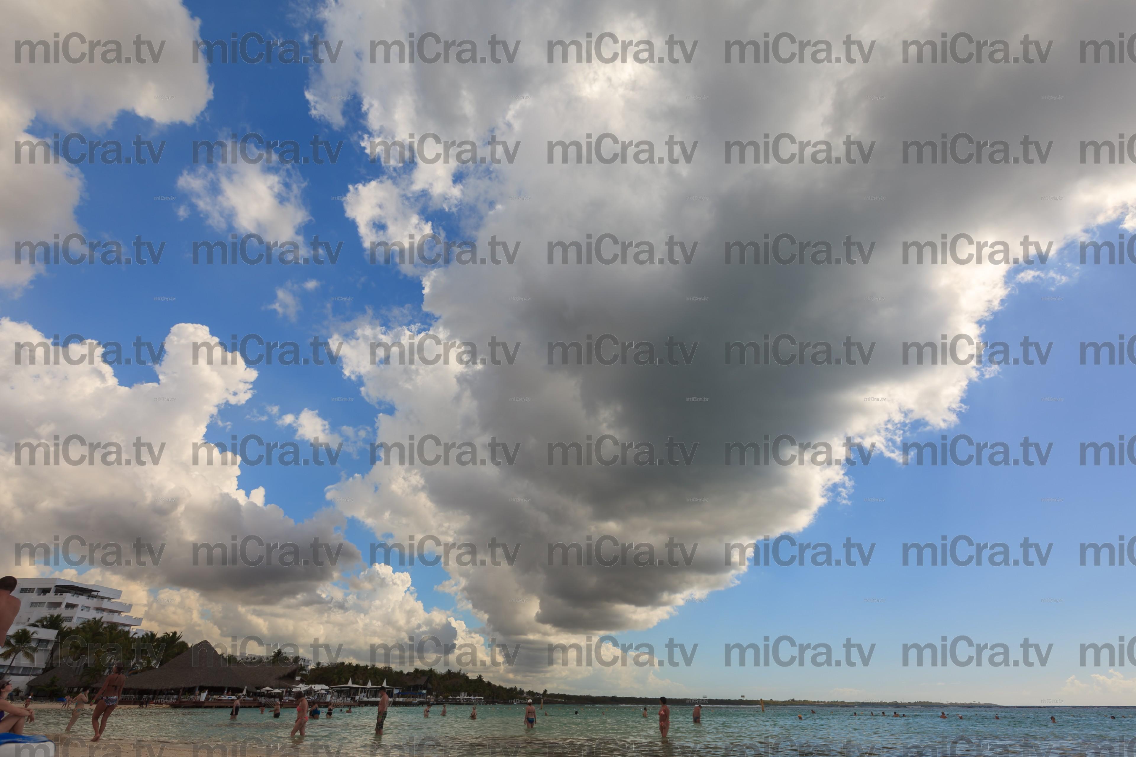 caribbean clouds 1